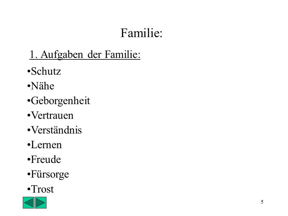 5 Familie: 1.