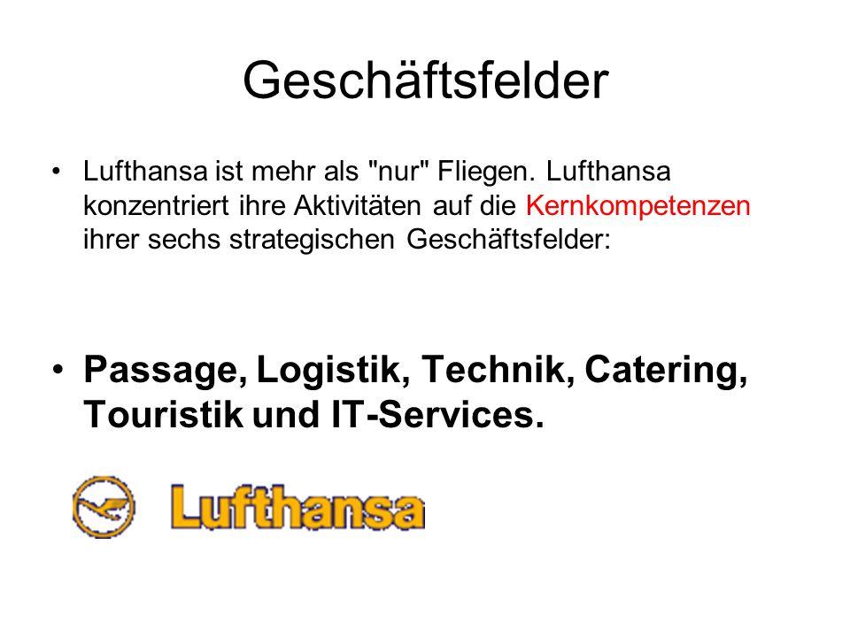 Geschäftsfelder Lufthansa ist mehr als