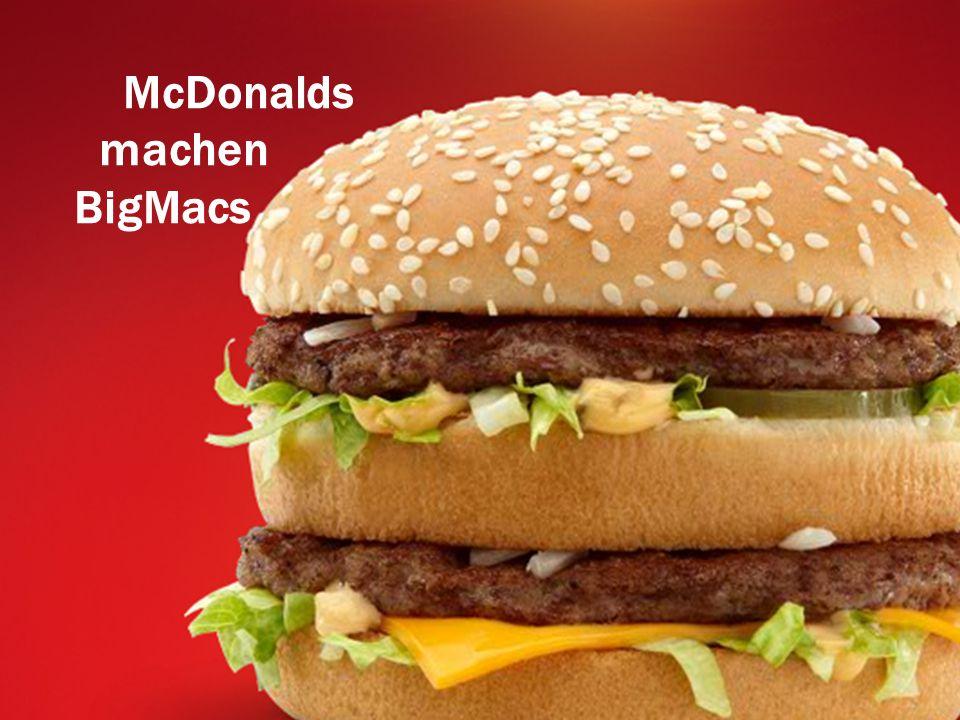 McDonalds machen BigMacs