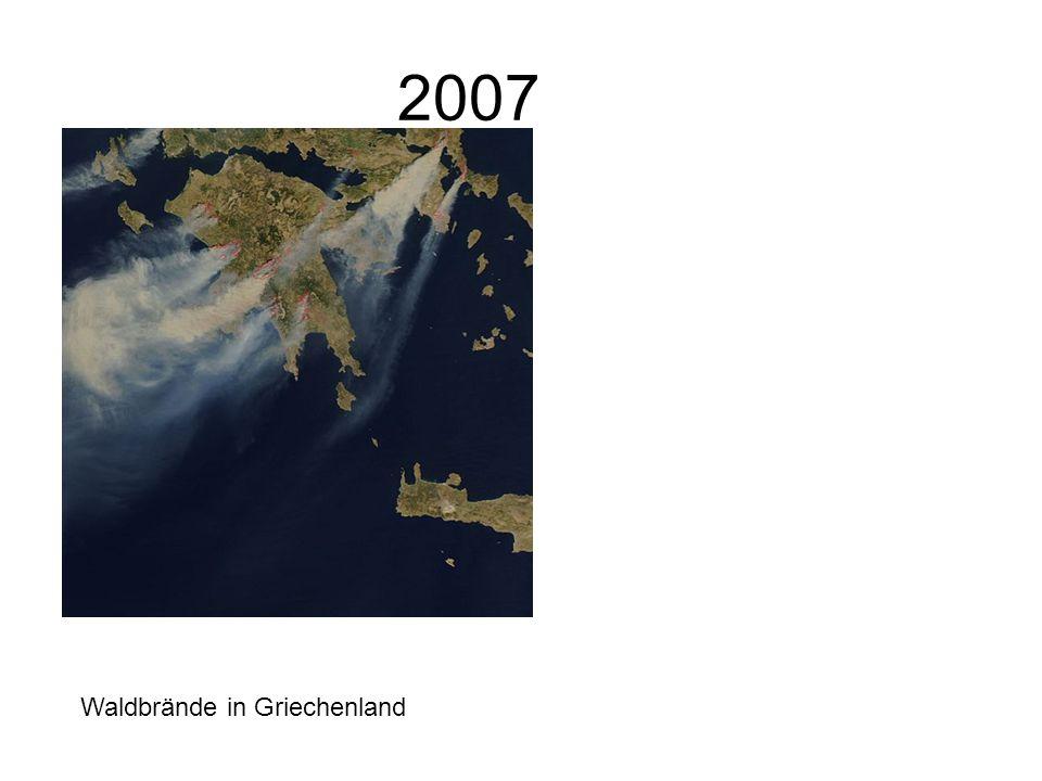 2007 Waldbrände in Griechenland