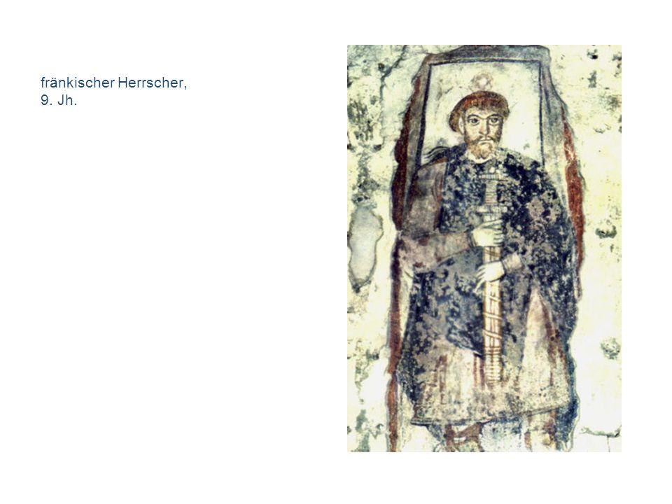 750 – 1050 literaturgeschichtliche Aspekte Übersetzungsliteratur –Abrogans (um 750) –Vocabularius Sancti Galli (um 790) –liturgische Gebrauchstexte –theologische Abhandlungen Heldenlieder –Hildebrandslied (aufgezeichnet um 830, Kloster Fulda) Preislieder –Ludwigslied (881/82) juristische Gebrauchstexte –Straßburger Eide (842) Vermittlung: Geistlichkeit-Laien –Wessobrunner Gebet / Schöpfungsgedicht (Entstehung um 790, Abschrift um 814)