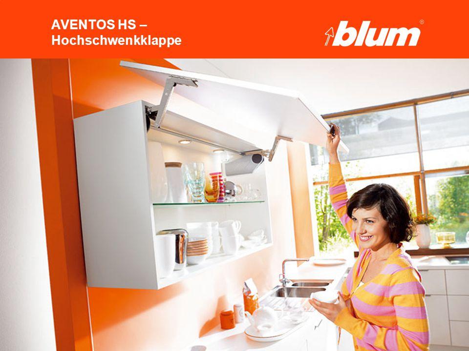 3 © Julius Blum GmbH AVENTOS HS – Hochschwenkklappe