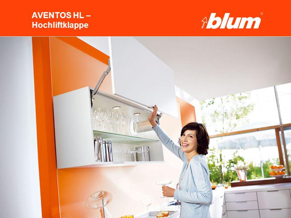 23 © Julius Blum GmbH AVENTOS HL 2.Programm 1. Produktkonzept 3.