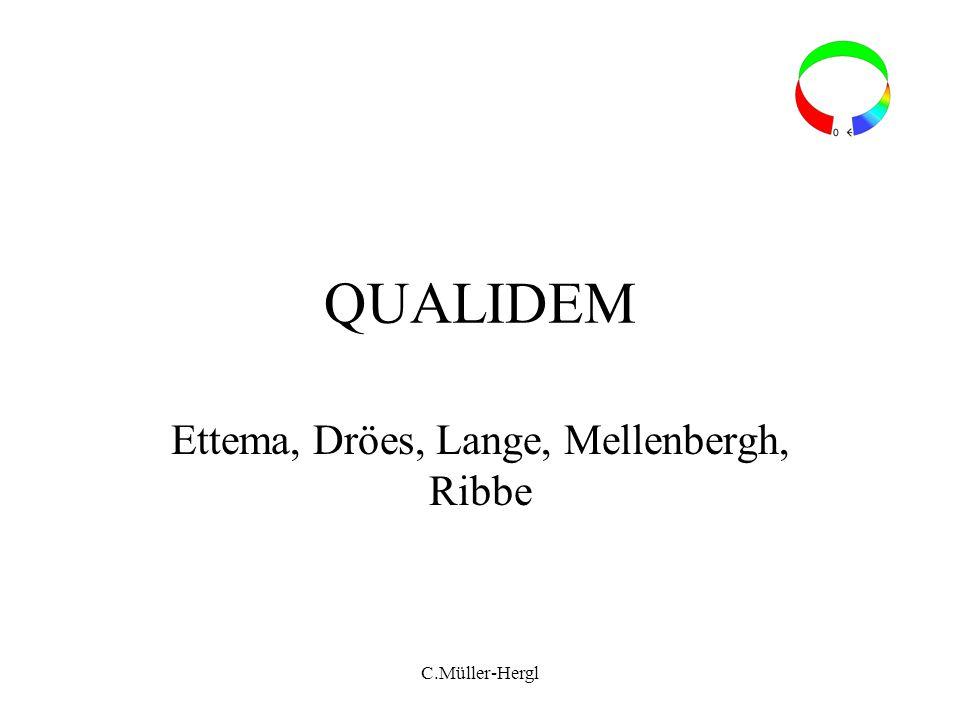 QUALIDEM Ettema, Dröes, Lange, Mellenbergh, Ribbe C.Müller-Hergl