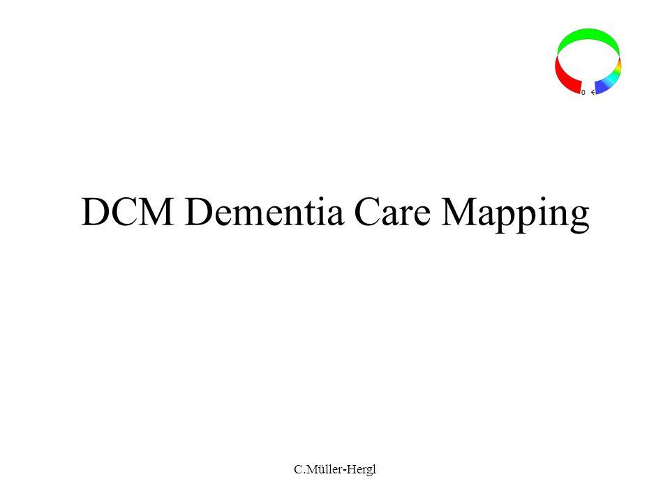 DCM Dementia Care Mapping C.Müller-Hergl