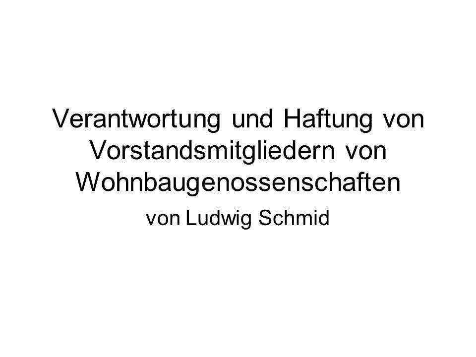 Vortrag IG Thun Übernahmeverschulden = wer eine Aufgabe übernimmt, muss dafür auch qualifiziert sein, sonst haftet er auch für seine nicht vorhandene Qualifikation!
