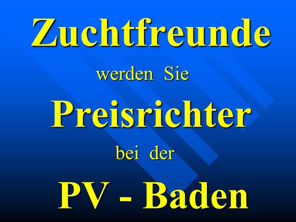 PV-Baden 1.Vorsitzender Werner Weschenfelder Vorstellung der Vorstandschaft 2.Vorsitzender Wolfgang Wöhrle Schulungsleiter A - D Uwe Maurer Schulungsleiter E - M Hermann Richter Schulungsleiter Z1 – Z3 Theodor Böser Sprechen Sie mit uns !