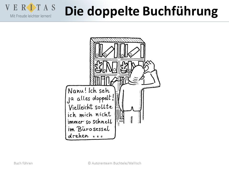 Buch führen© Autorenteam Buchtele/Wallisch Die doppelte Buchführung