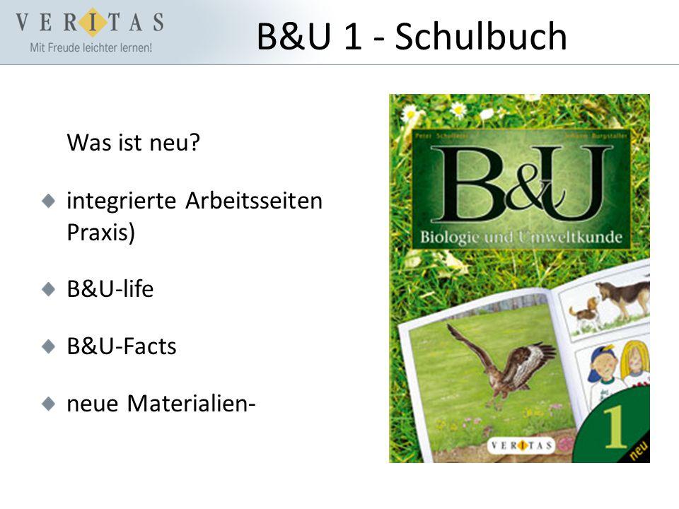 B&U 1 - Schulbuch Was ist neu.