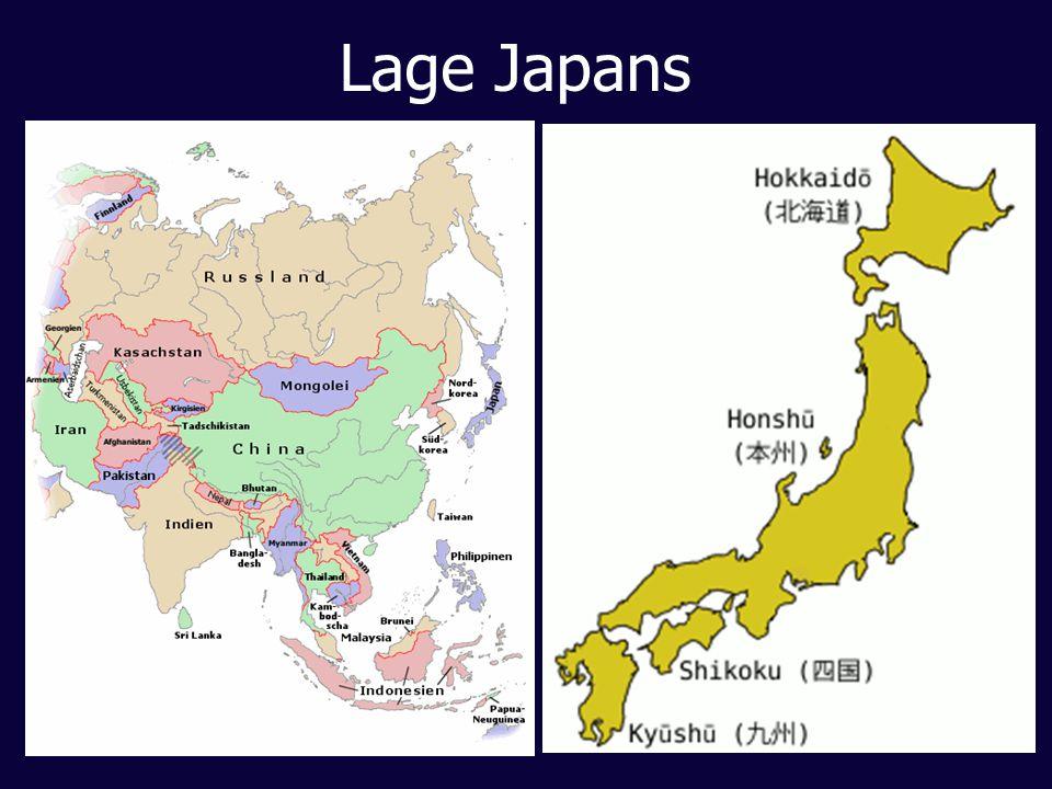 Lage Japans