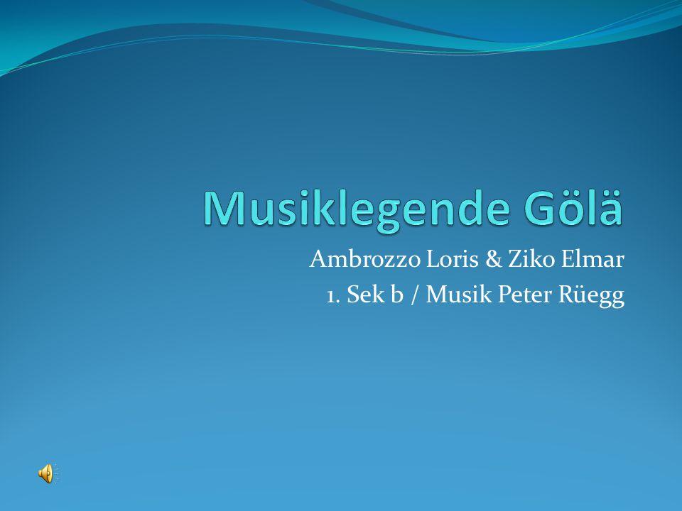 Ambrozzo Loris & Ziko Elmar 1. Sek b / Musik Peter Rüegg