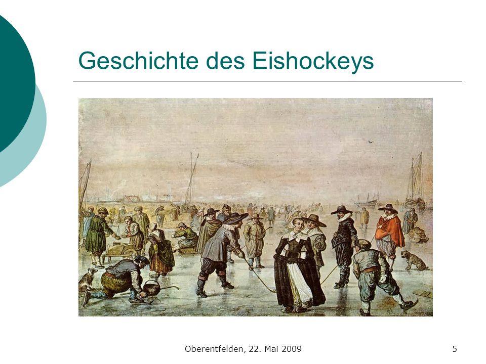 Oberentfelden, 22. Mai 20095 Geschichte des Eishockeys