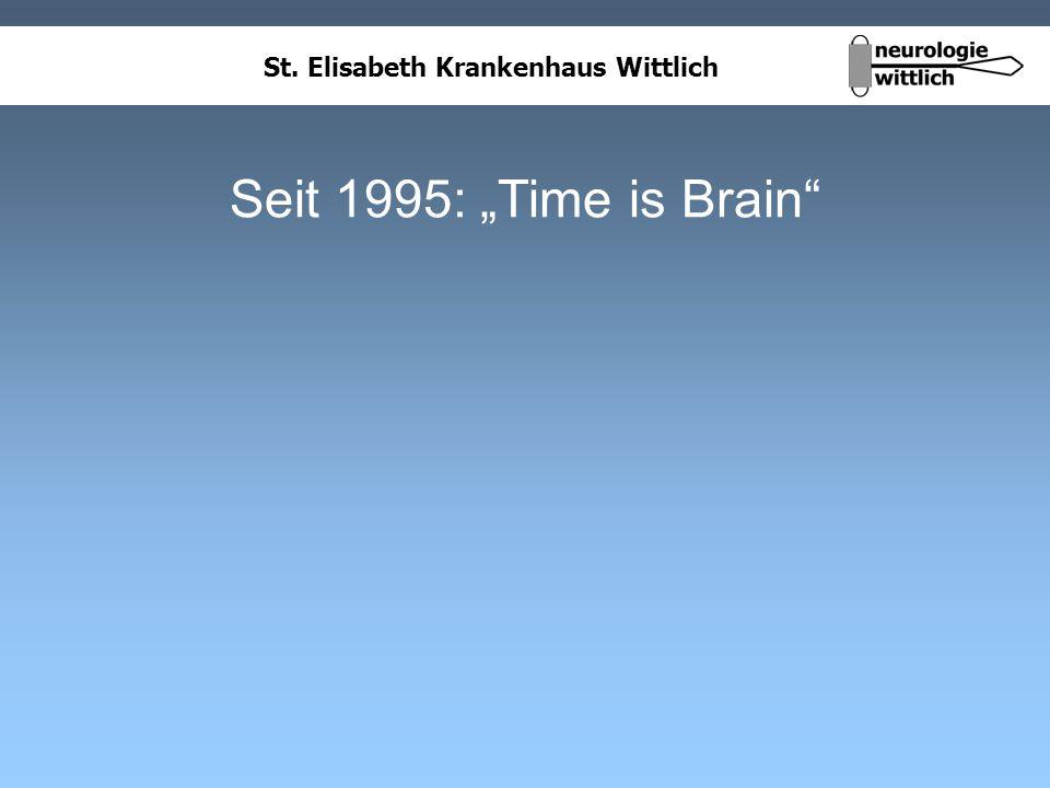 St. Elisabeth Krankenhaus Wittlich Seit 1995: Time is Brain