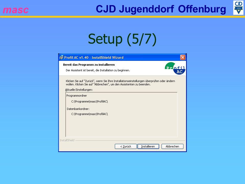 masc CJD Jugenddorf Offenburg Setup (5/7)