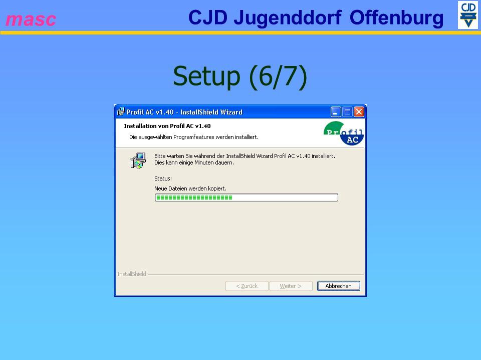 masc CJD Jugenddorf Offenburg Setup (6/7)