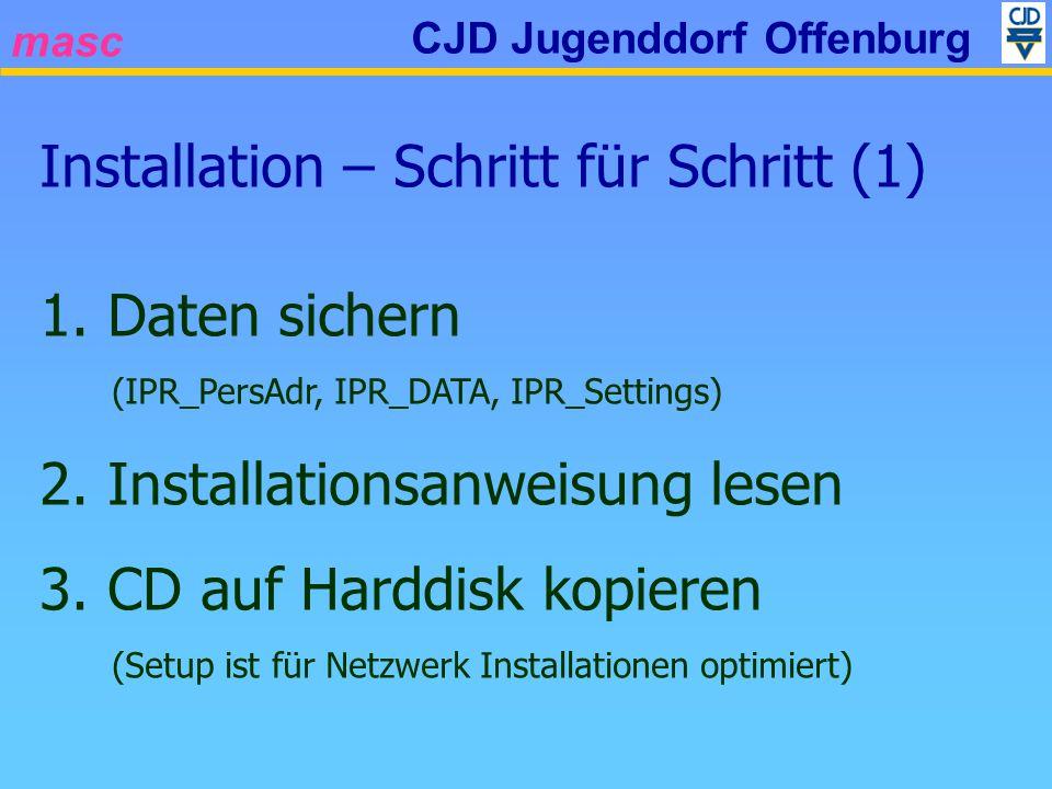 masc CJD Jugenddorf Offenburg Installation – Schritt für Schritt (1) 1.