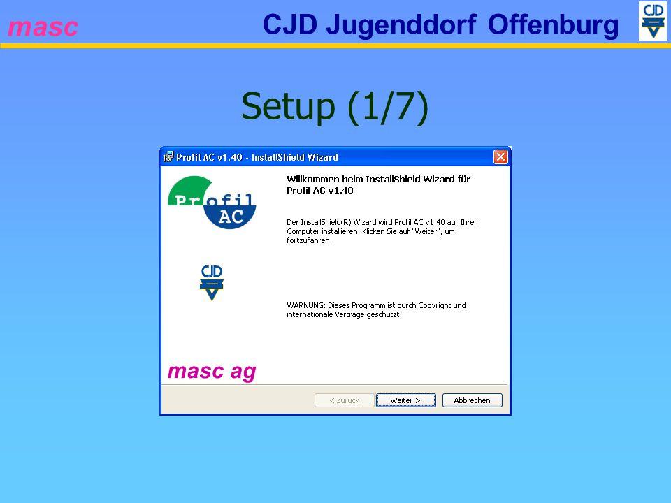 masc CJD Jugenddorf Offenburg Setup (1/7)