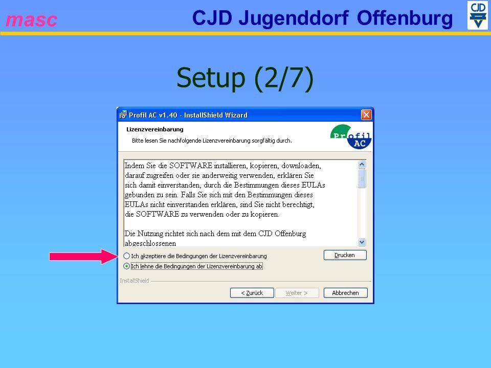 masc CJD Jugenddorf Offenburg Setup (2/7)