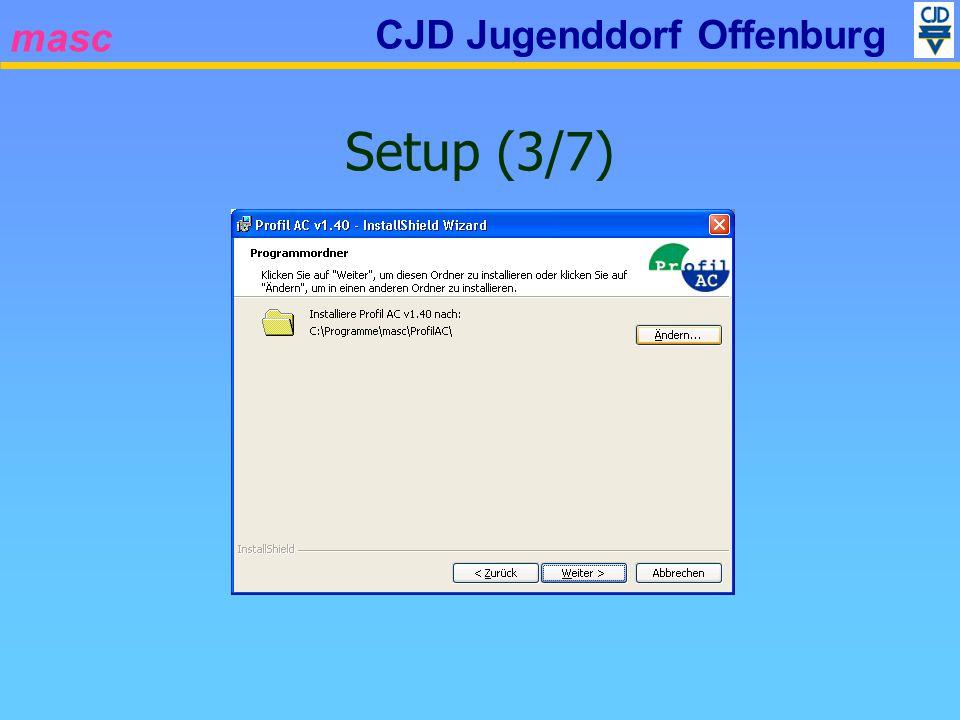 masc CJD Jugenddorf Offenburg Setup (3/7)
