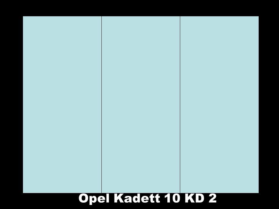 Opel Kadett 10 KD 2