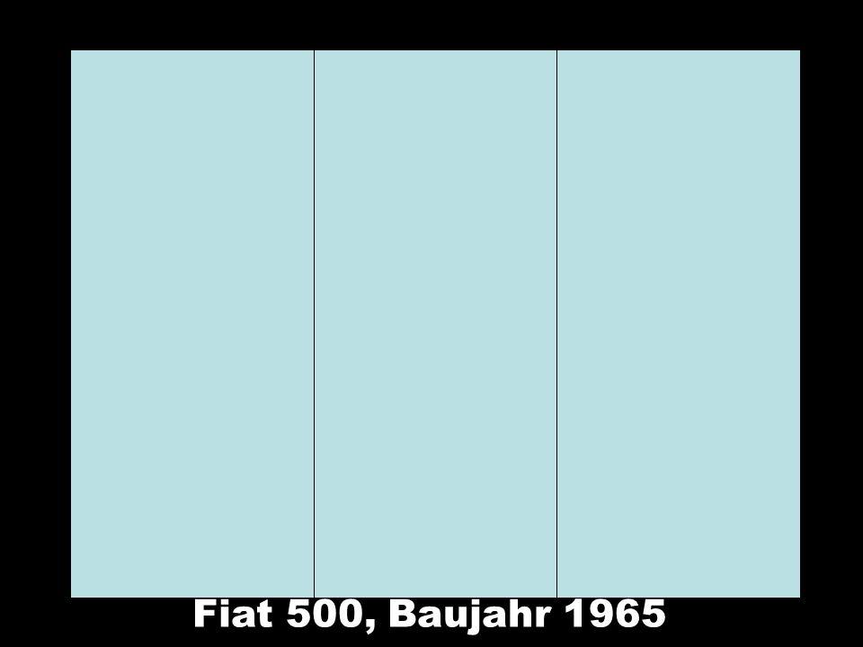 Fiat 500, Baujahr 1965