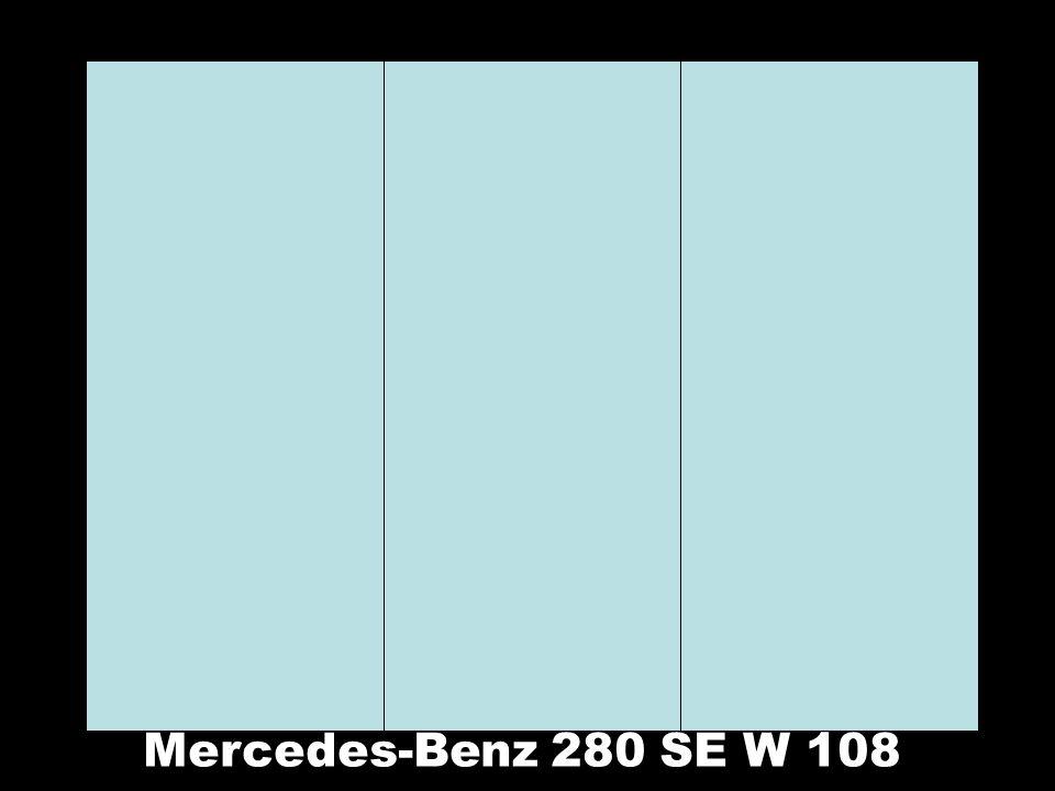 Mercedes-Benz 280 SE W 108