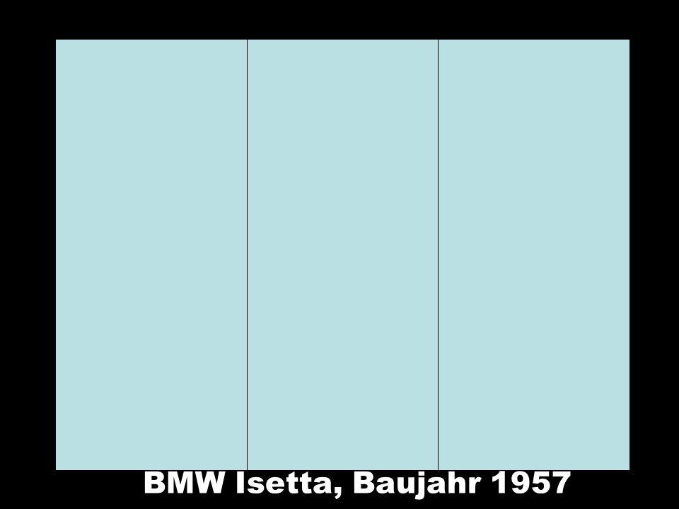 BMW Isetta, Baujahr 1957