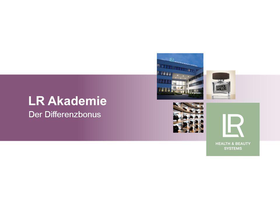 LR Akademie Der Differenzbonus