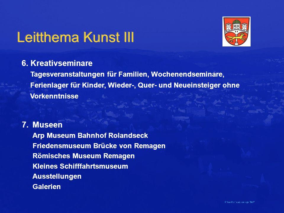Leitthema Kunst III 6.