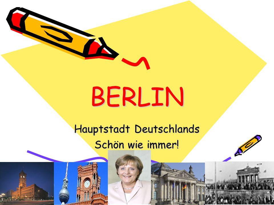 BERLIN Hauptstadt Deutschlands Schön wie immer!