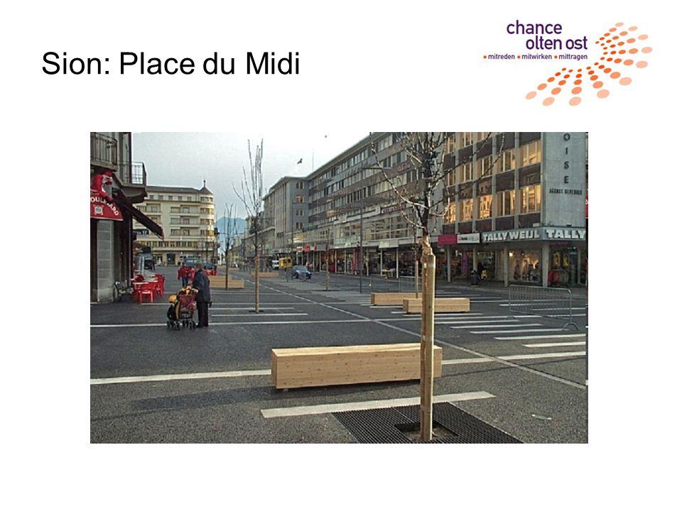 Sion: Place du Midi
