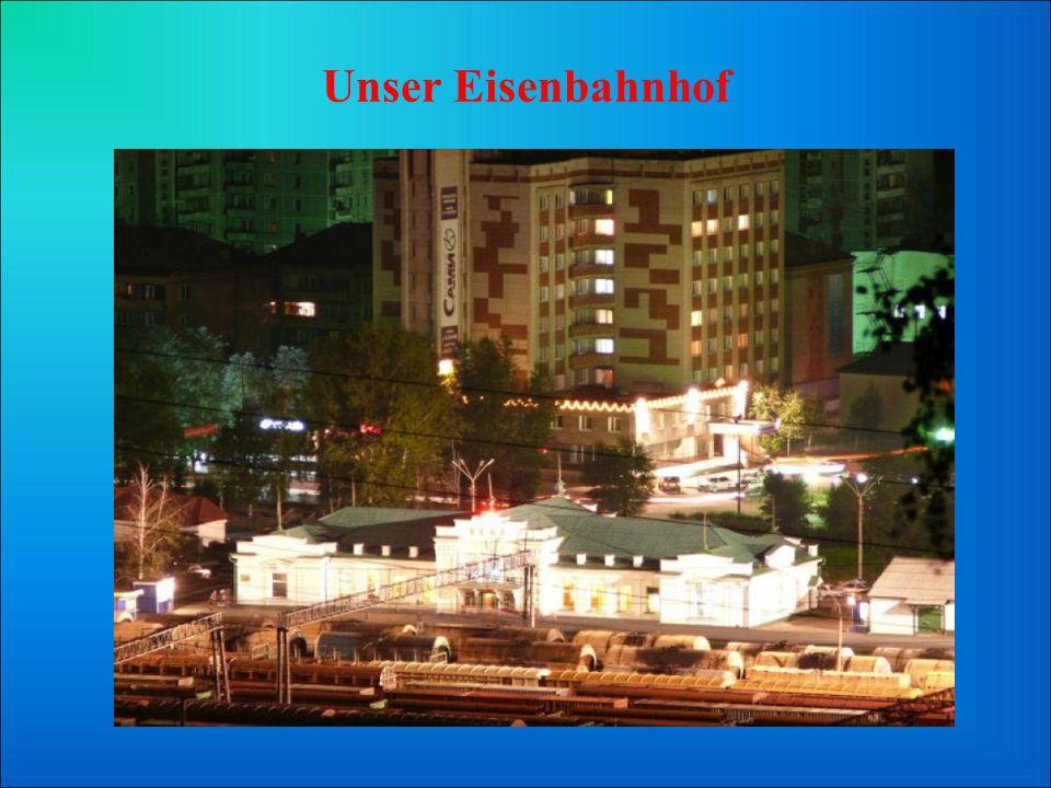 Unser Eisenbahnhof