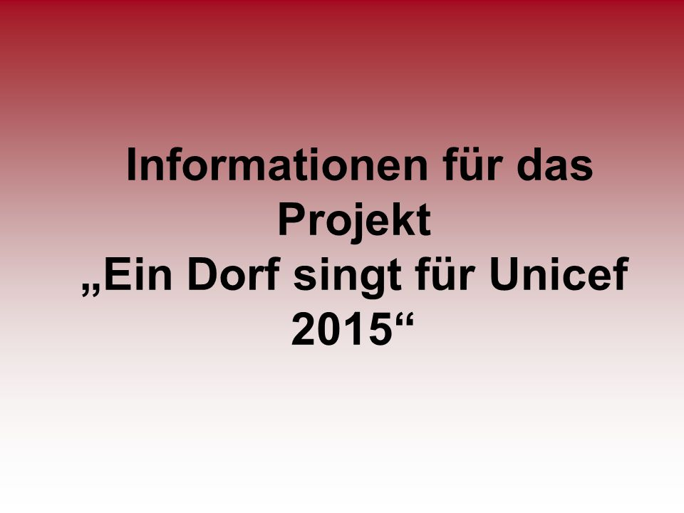 Agenda 1.Begrüßung 2. Allgemeine Informationen 3.