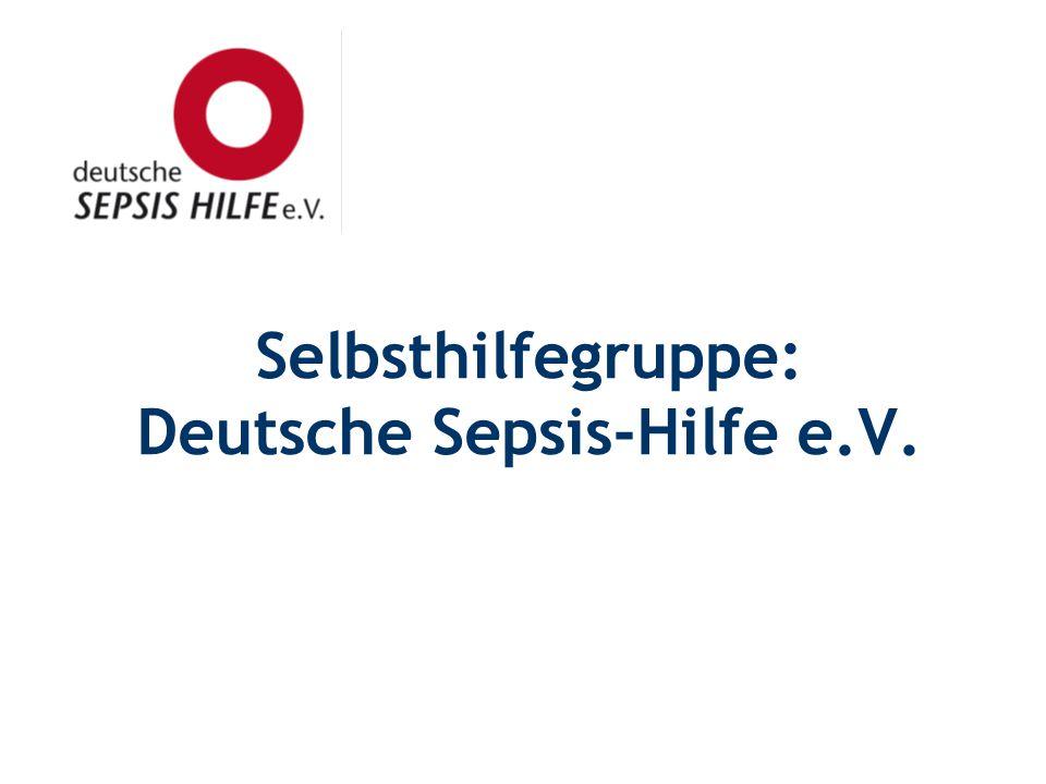 Selbsthilfegruppe: Deutsche Sepsis-Hilfe e.V.