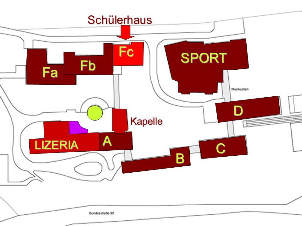 Fa A B SPORT D C Fb Kapelle LIZERIA SchülerhausFc