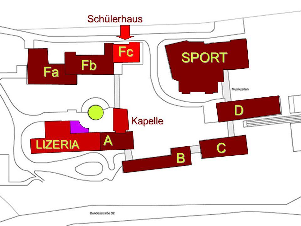 Fa A B SPORT D C Fb Kapelle LIZERIASchülerhausFc