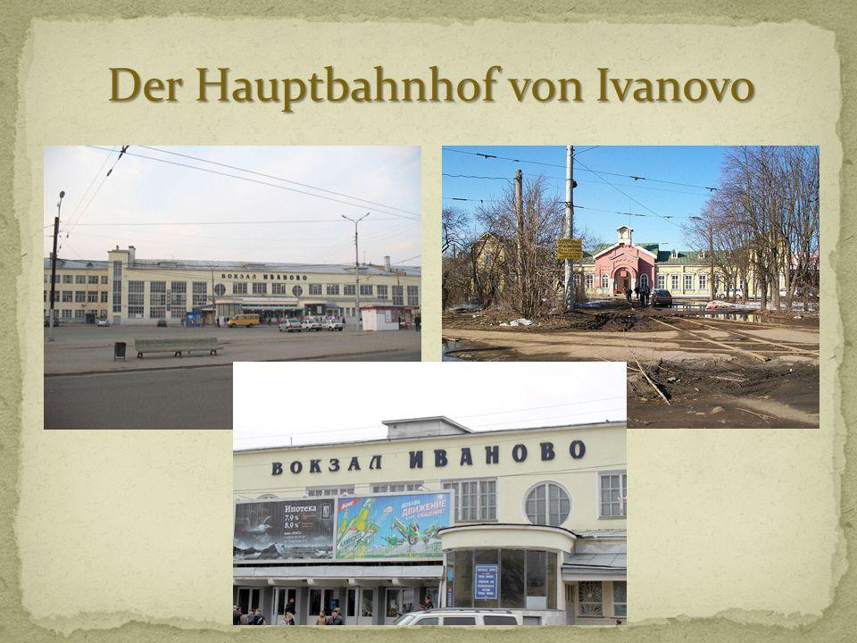 Der Hauptbahnhof von Ivanovo