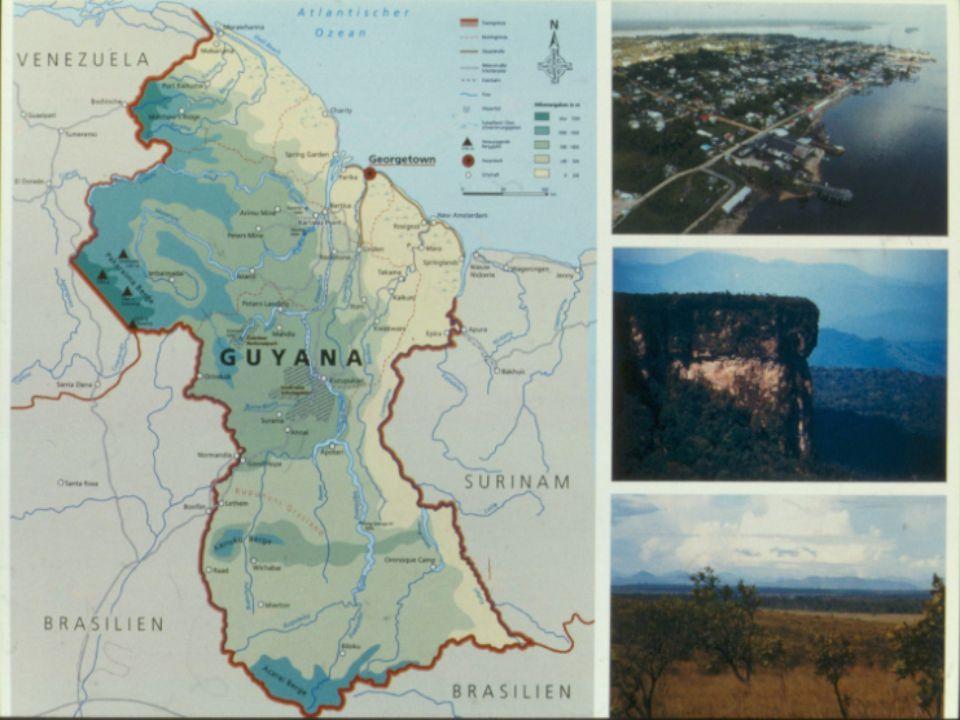 1.Barima-Waini 2.Pomeroon- Supenaam 3.Essequibo Islands- West Demerara 4.Demerara-Mahaica 5.Mahaica-Berbice 6.East Berbice- Corentyne 7.Cuyuni-Mazaruni 8.Potaro-Siparuni 9.Upper Takutu- Upper Essequibo 10.Upper Demerara- Berbice
