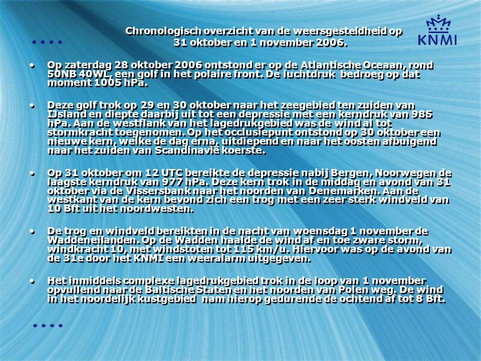 Synoptische situatie 29-10-2006