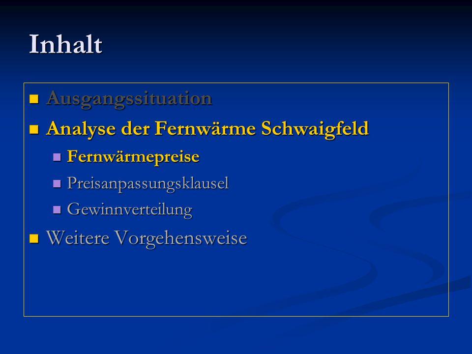 Sehr geehrter Fernwärmekunde Auszug aus Mitteilung der Gemeinde Olching In den Preisgleitformeln, die die Gemeinde Olching gegenüber den Kunden einsetzt, werden die Preise des Wärmelieferanten (GfA) und des Netzbetreibers (Techem) zusammengeführt