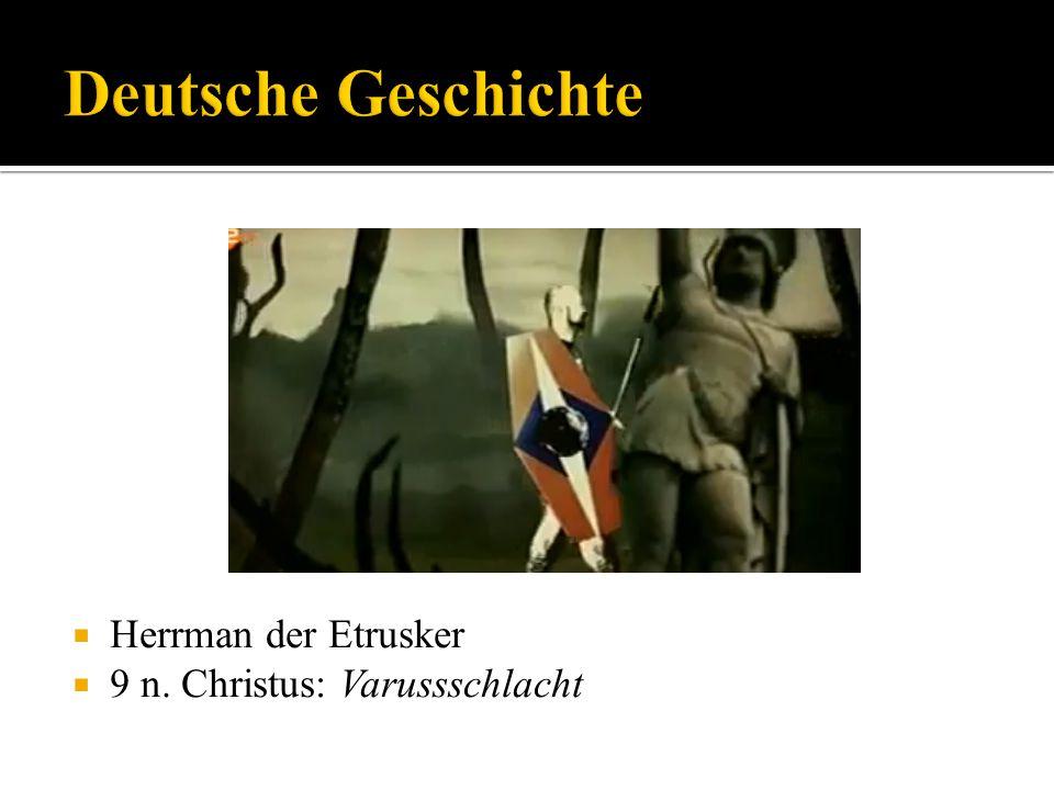 Herrman der Etrusker 9 n. Christus: Varussschlacht