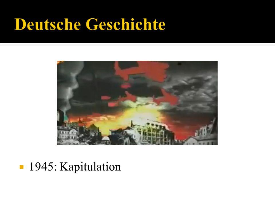 1945: Kapitulation