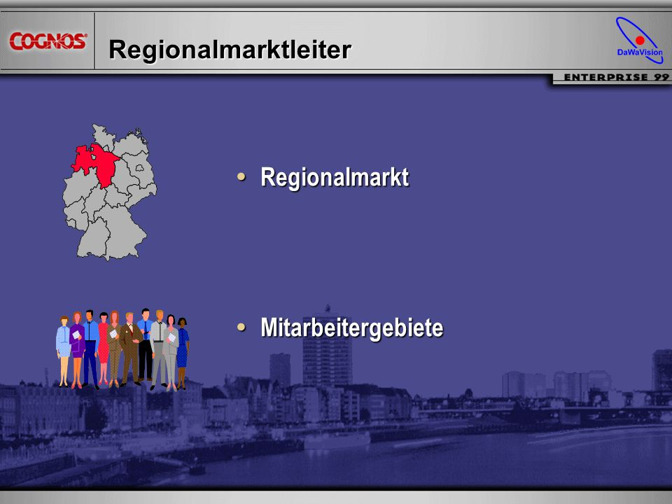 Regionalmarktleiter Regionalmarkt Regionalmarkt Mitarbeitergebiete Mitarbeitergebiete