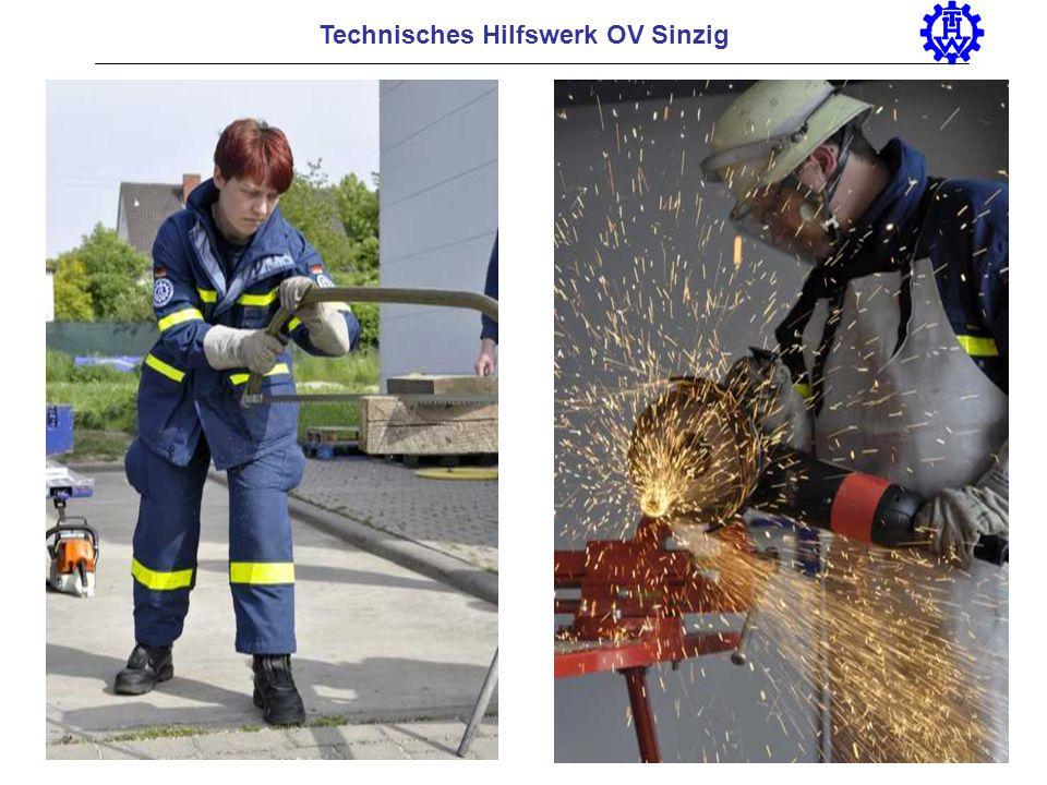 Technisches Hilfswerk OV Sinzig Basic training