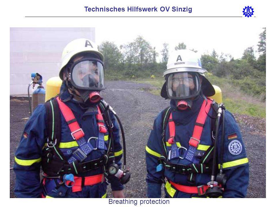 Technisches Hilfswerk OV Sinzig Breathing protection