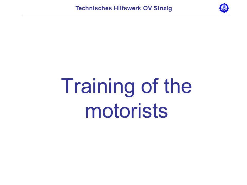 Training of the motorists