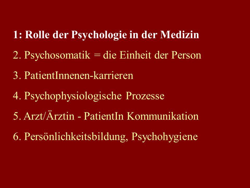 Wozu Psychische Funktionen? dienen der 1) Orientierung, der 2) Regulation und der 3) Anpassung + beim Menschen kommt Bewusstsein hinzu (daher Verantwo
