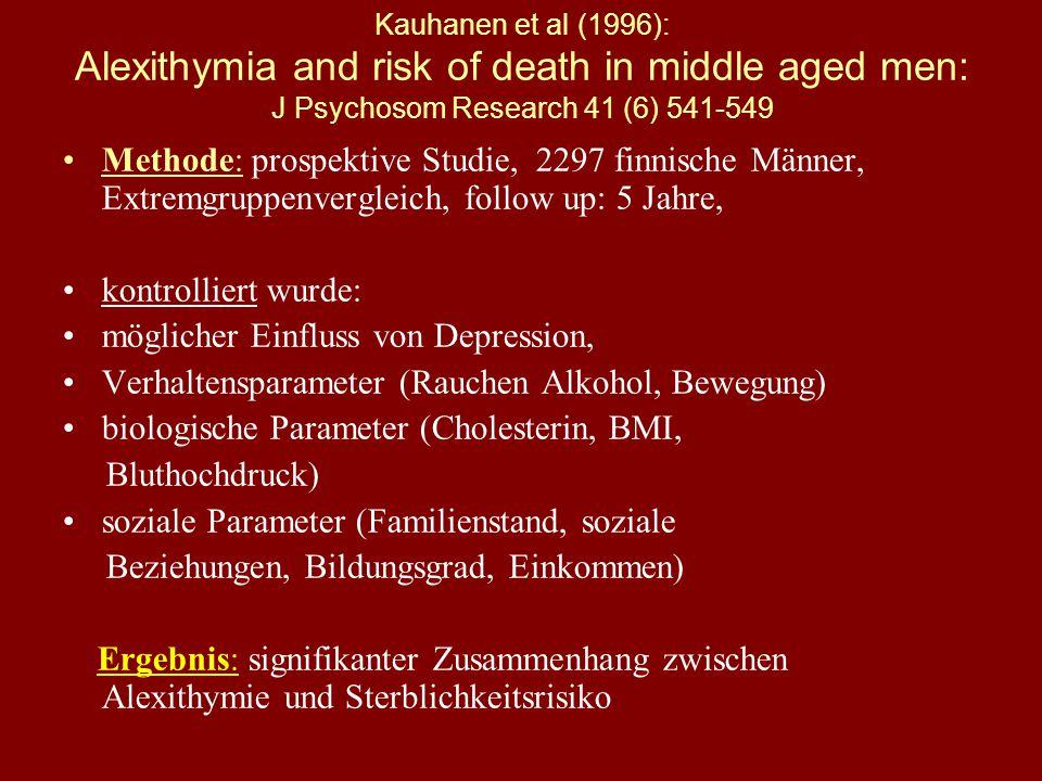 2. Psychosomatik = Einheit der Person Alexithymie A-lexi-thymie bezeichnet: Schwierigkeiten im Identifizieren und Beschreiben von Gefühlen Schwierigke