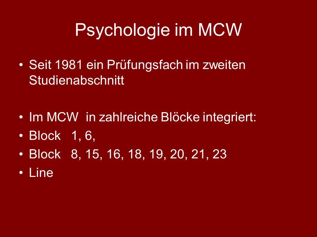 Medizinische Universität Wien Studieneingangsphase (Block 1) WS 2013 / 14 Medizinische Psychologie ao. Univ. Prof. Dr. Oskar Frischenschlager Zentrum