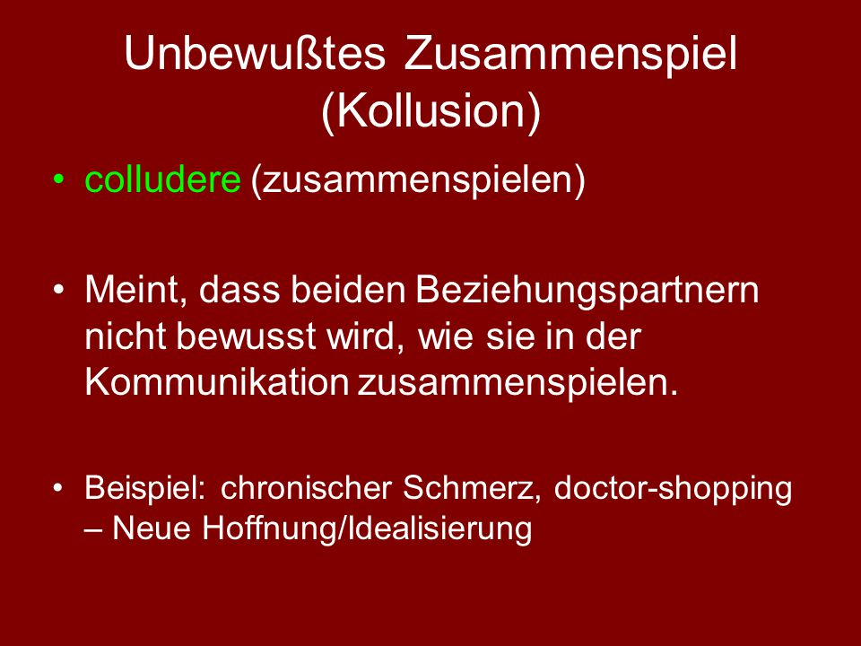 Unbewusstes in der Arzt-Patient-Beziehung JoHari-Fenster (Joseph Luft und Harry Ingham): Arzt+ Arzt- P + I. II. P - III. IV.